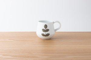 FIORE | マグカップ 若葉(茶)
