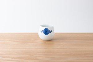 FIORE | 湯呑 花つる(藍)