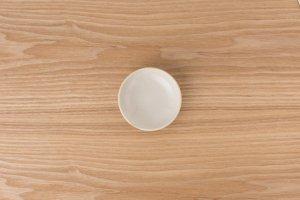 ほっこりポッタリー | 小皿 乳白