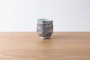 香酒盃 | Lサイズ | いぶし銀 黒