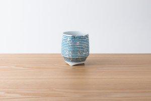 香酒盃 | Lサイズ | いぶし銀 青