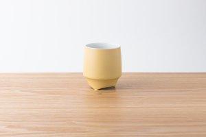 香酒盃 | Lサイズ | 黄結晶釉