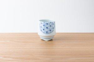 香酒盃 | Lサイズ | 青い麻の葉