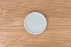 古白磁 | 5寸平皿