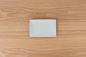 古白磁 | 長角小皿