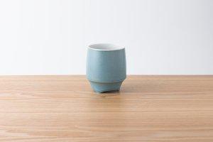 香酒盃 | Lサイズ | 青結晶釉