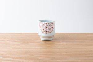 香酒盃 | Lサイズ | 赤い麻の葉