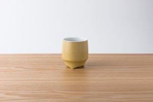 香酒盃   Mサイズ   黄結晶釉