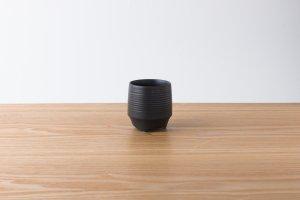 香酒盃 | Sサイズ | 黒釉千段