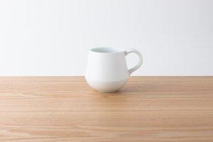 素磁 | マグカップ 白素磁釉