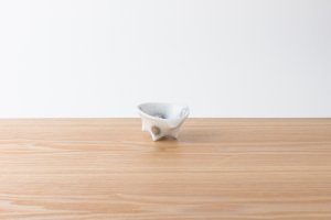 有田HOUEN/2nd | 吉澤 美香 | 七分碗パンチ小 水玉(銀)