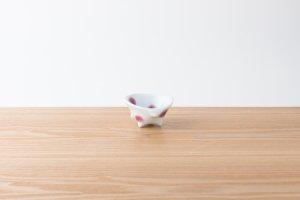 有田HOUEN/2nd | 吉澤 美香 | 七分碗パンチ小 水玉(赤)
