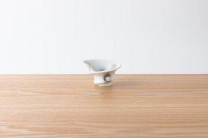 有田HOUEN/2nd | 吉澤 美香 | 七分碗ロール小 水玉(銀)