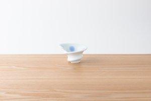 有田HOUEN/2nd | 吉澤 美香 | 七分碗ロール小 水玉(青)
