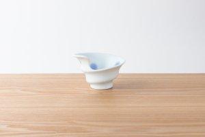 有田HOUEN/2nd | 吉澤 美香 | 七分碗ロール大 水玉(青)