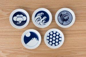 KOMON | 豆皿 | 5枚セット 季節紋
