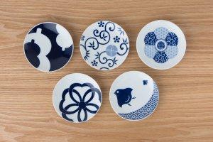 KOMON | 豆皿 | 5枚セット 吉祥紋