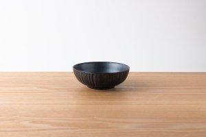 千彫 | 小鉢 しのぎ 黒鉄砂
