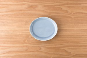 OVAL | 【数量限定】楕円皿(小) ブルー