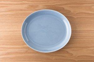 OVAL | 【数量限定】楕円皿(大) ブルー