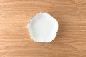 結晶釉 | 取皿 |  白結晶釉