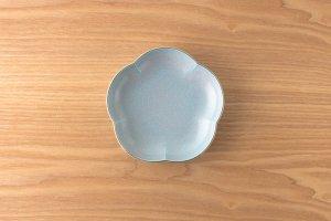 結晶釉 | 取皿 |  青結晶釉