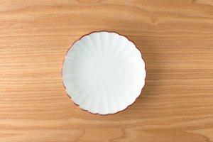 菊型取皿 |  渕赤