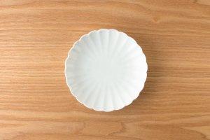 菊型取皿 |  青白磁