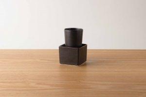桝酒グラスセット | 鉄釉