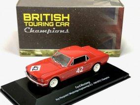 【直輸入品】 ATLAS 1/43 フォードマスタング #42 BTCC1965 チャンピオン