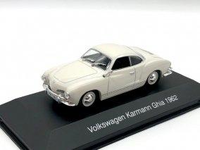 【直輸入品】Altaya 1/43 VW カルマンギア 1962 (ホワイト)