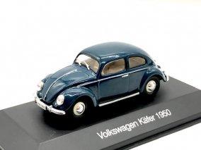 【直輸入品】Altaya1 /43 VW 1958 (ダークブルー)