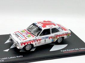 【直輸入品】Altaya 1/43 フォードエスコートRS 1600 MK1 1000湖ラリー1974