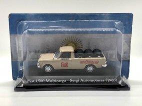 【直輸入品】Altaya 1/43 フィアット1500Multicarga Sergi Automotores 1965