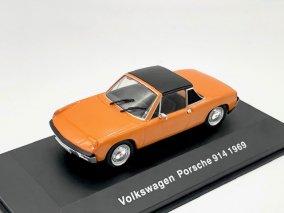 【直輸入品】 Altaya 1/43 VWポルシェ914 1969 (オレンジ)