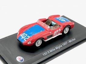 直輸入品 Leo Models 1/43 マセラティ 150S #402 Mille Miglia 1957