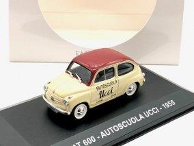 【直輸入品】Altaya 1/43 フィアット600 Autoscuola Ucci 1955