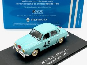 【直輸入品】Atlas 1/43 ルノー ドーフィン ゴルディーニ ツール・ド・コルス 1959