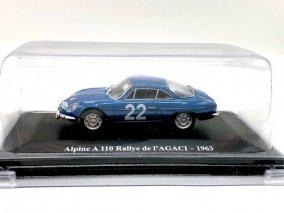 【直輸入品】Altaya 1/43 アルピーヌA110 #22  Rally de Agaci 1963    year:   1963