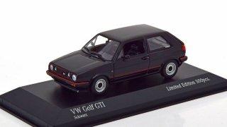 【直輸入品】ドイツショップ特注 ミニチャンプス 1/43 VW ゴルフ� GTI 1985 (ブラック)