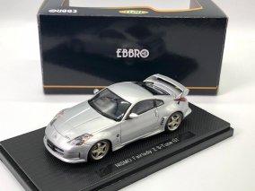 【委託品】エブロ1/43 ニスモ フェアレディZ Sチューン GT (シルバー)