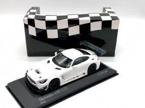 【直輸入品】ミニチャンプス 1/43 メルセデス AMG GT3 2017 (ホワイト) 410173200