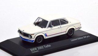 【直輸入品】ドイツショップ特注 ミニチャンプス 1/43 BMW2002ターボ  1973 (ホワイト)