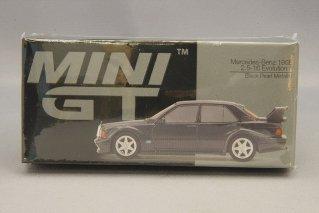 MINIGT 1/64 メルセデスベンツ190E 2.5-16 Evo.2 LHD(ブラックパールメタリック)