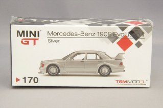 MINIGT 1/64 メルセデスベンツ190E 2.5-16 Evo.2 LHD(シルバー)