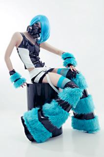 Cyber Fluffie Leg