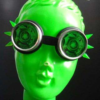 スパイク ゴーグル / グリーン