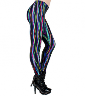 CYBERDOG : Electric Stripe Leggings