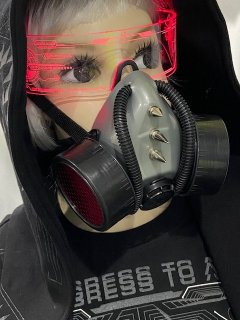 h:SPIKE&リブチューブ ガスマスク