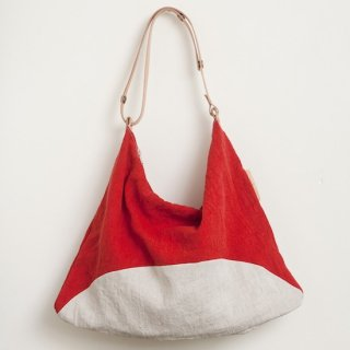 M022 MORMYRUS linen wash square shoulder pop color